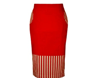 Pencil Skirt AUSTRIAN REBELL