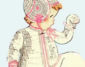 CROCHET BABY LAYETTE Vogart #164