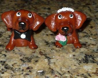 CUSTOM ORDER Wedding Cake Topper Your Dogs