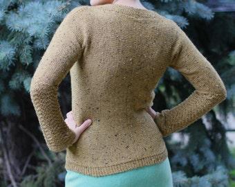 Velma Knitting Pattern Pullover Sweater Knit