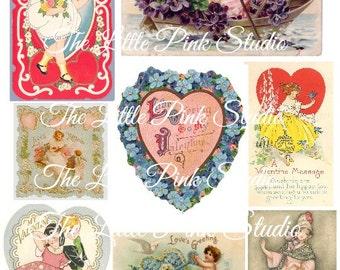 Valentine Collage Sheet (Digital Download)