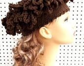 Crochet Pattern Hat, Womens Crochet Hat Pattern, Womens Hat, Cloche Hat Pattern with Fringe, LINDA Cloche Hat Crochet Pattern, Formal Hat