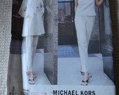 Vogue 1918 Michael Kors Misses Jacket Top & Pants Sewing Patten size 8-10-12 UNCUT