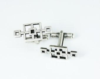 Cinderblock Cufflinks