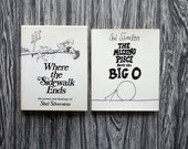 Shel Silverstein Book Set // Where the Sidewalk Ends + The Missing Piece Meets the Big O // First Editions