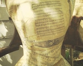 Waltz Paper Mache Dress Form