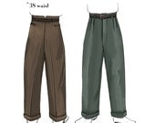 NVL 7803 1940s Men's Slacks pattern 38 waist