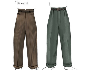 how to make zoot suit pants