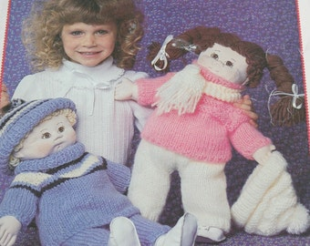 Patons Knitting Patterns For Dolls Clothes : Knitting Patterns Doll Sailor Suits Ship Ahoy Beehive Patons