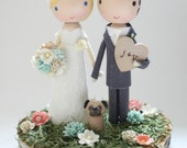 custom wedding cake topper - order for - JULIEBIGLER