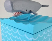 Whale Playing Card Box