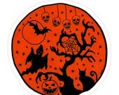 Haunted Grove Sticker - By Allie Hartley