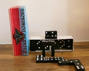 Vintage Games Magna Dominoes Tile Game Set 1950s