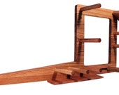 Inkle Loom, Tablet Weaving, Card Weaving Loom With Double Tension System - Handcrafted From Solid Red Oak - 30 Inch