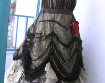 Gothic Wedding Gowns---Custom Made, Muslin Fit