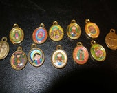 Sweetest EVER Catholic or Orthodox Religious medals, charms, pendants -- Russian influence? (25) TeamESST, OlympiaEtsy, CraftCount, WWWG