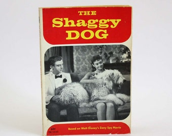 The Shaggy Dog adapted by Elizabeth L. Griffen - Vintage Book c. 1970