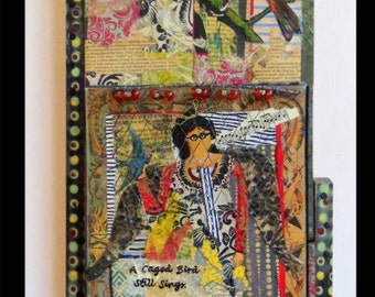 All Birds Need to Sing mixed media by Lauretta Lowell