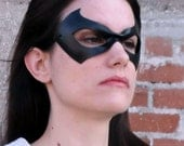 Superhero mask - leather mask -  Justice - Made to Order