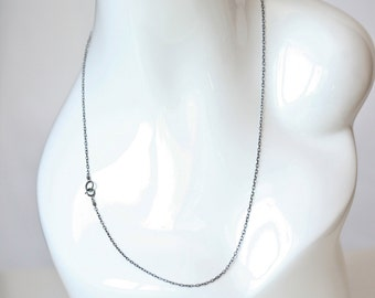 Just Chain - Sterling Silver Cable Chain - Medium Weight