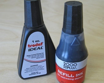 Refill Ink for Self-inking Stamps