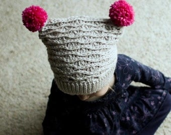 Crochet Hat Pattern - Tessa Hat (Baby-Adult Sizes)