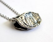 Solid Sterling Silver Turtle Shell Pendant Necklace Terrapin 119