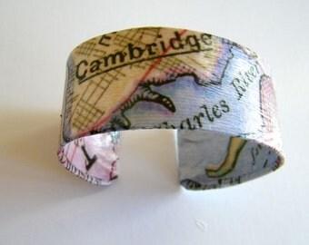"Vintage Cambridge cuff bracelet -1""- gift boxed"
