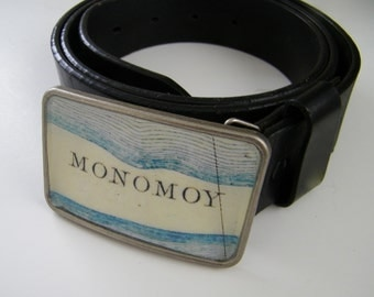 Monomoy Chatham Cape Cod  belt buckle - gift boxed