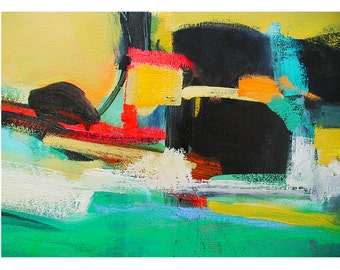 Abstract Art Print, Modern Abstract Art, Contemporary Art, Colorful Painting