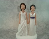 Personalized Same Sex Couple Wedding Cake Topper