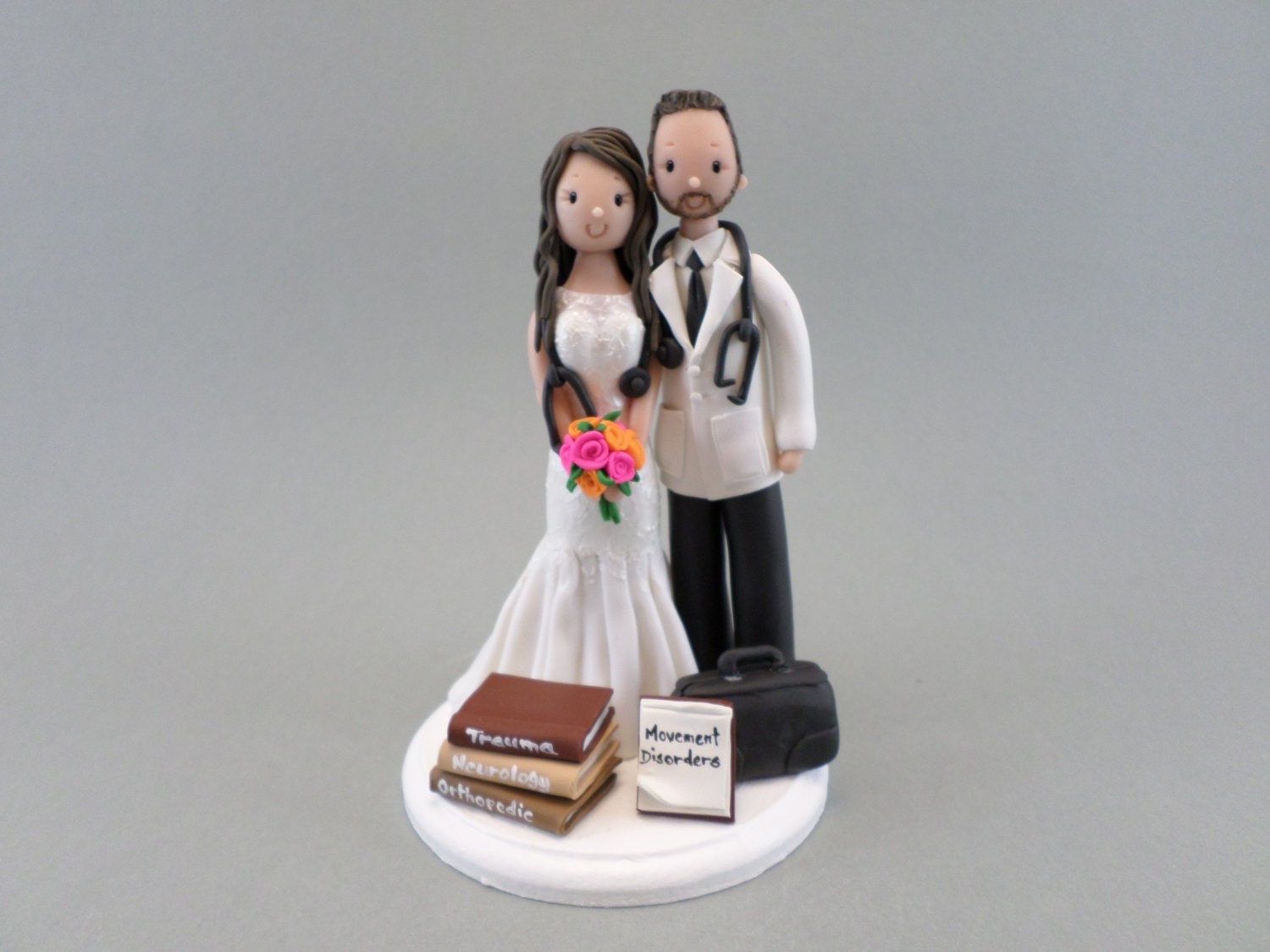 nurse wedding cake topper doctor amp personalized wedding cake topper 17950