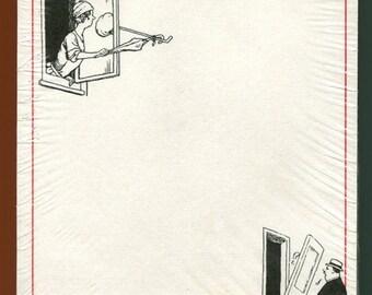 Help illustrated memo pad from Metropolital Museum of Art in 1986