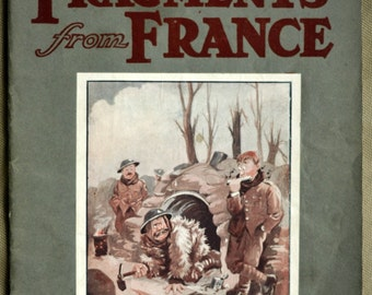 1916 -1919 Antique Magazine. Fragments from France by Capt. Bruce Bairnsfather. WW1 Memorabilia