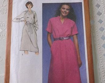 Misses Pullover Dress Pattern Misses Size 12 Simplicity 9572 uncut pattern