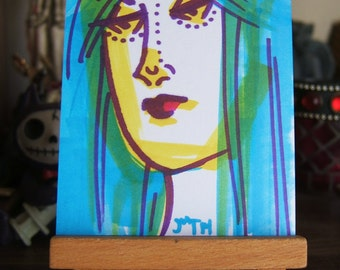 ART CARDS No 61 Overtired