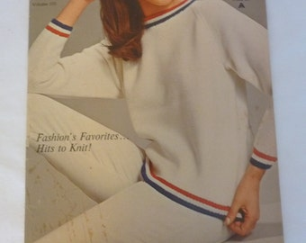 Vintage SPINNERIN Knitting Pattern Book Vol. 101, 1964 Mad Men Era Fashions