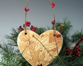 Reserved Listing for Maureen - Three Ornaments - Heart - Horse - Bird