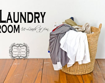 Laundry Room Loads of fun-Vinyl Decal