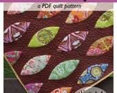 modern quilt pattern PDF // lemon drop