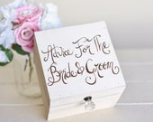 Rustic Guest Book Alternative Box Advice For The Bride and Groom (Item Number MMHDSR10039)