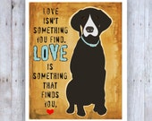 Pointer Dog Art Print Wall Decor, Brown Dog, Love Art, Dog Rescue, Dog Adoption, German Shorthair Pointer, Loretta Young, Dog Decor