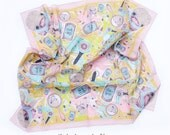 Beauty School Dropout Illustrated Cotton Scarf
