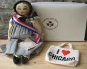 1993 UFDC Rappanhanock Rags Cloth Doll Chicago