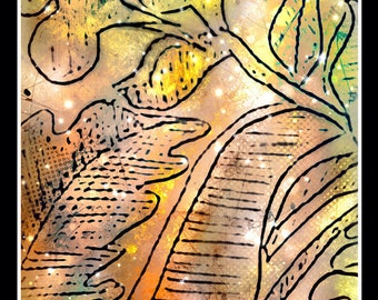 Leaves I (print)