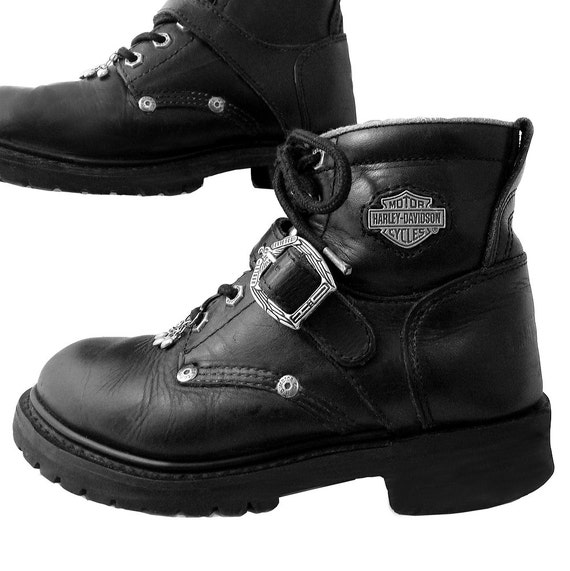 harley davidson ankle boot size 6 to 6 by