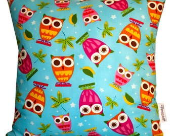 T'Wit T'Woo Owls Handmade Cushion Cover 45cm x 45cm