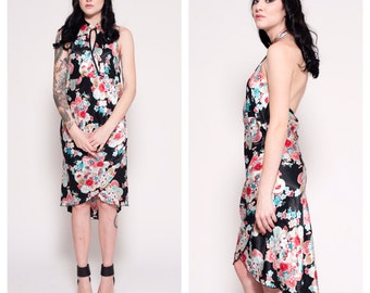 Geisha Floral Vintage Dress