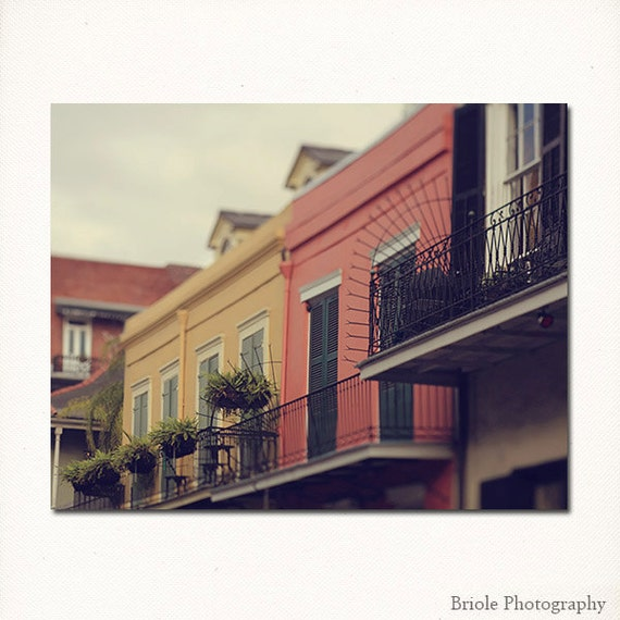 Home Decor New Orleans: New Orleans French Quarter Art. Down The Road By Briole On