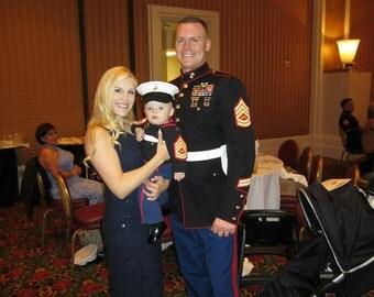 Marine Corps - Marine Corps Baby Hat - usmc Baby Hat - US Marine Corps - Marine - US Marine - Marine mom  - Hobbyist License #21512